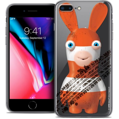 "Coque Gel Apple iPhone 8 Plus (5.5"") Extra Fine Lapins Crétins™ - On the Road"
