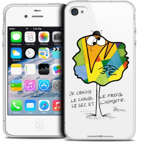 Coque iPhone 4/4s Extra Fine Les Shadoks® - Chaud ou Froid