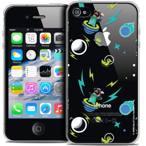 Coque iPhone 4/4s Extra Fine Lapins Crétins™ - Space 1