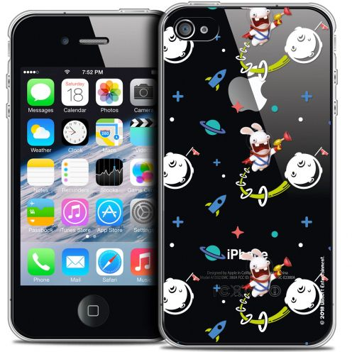 Coque iPhone 4/4s Extra Fine Lapins Crétins™ - Space 2