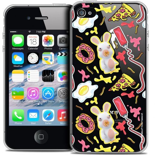 Coque iPhone 4/4s Extra Fine Lapins Crétins™ - Egg Pattern