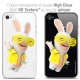 Coque iPhone 4/4s Extra Fine Lapins Crétins™ - Sun Glassss!