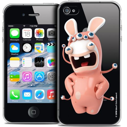 Coque iPhone 4/4s Extra Fine Lapins Crétins™ - Extraterrestre