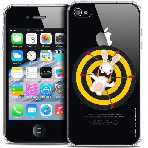 Coque iPhone 4/4s Extra Fine Lapins Crétins™ - Target