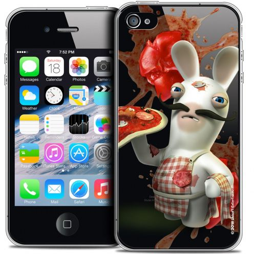 Coque iPhone 4/4s Extra Fine Lapins Crétins™ - Cuisinier