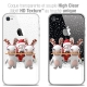 Coque iPhone 4/4s Extra Fine Lapins Crétins™ - Lapin Traineau