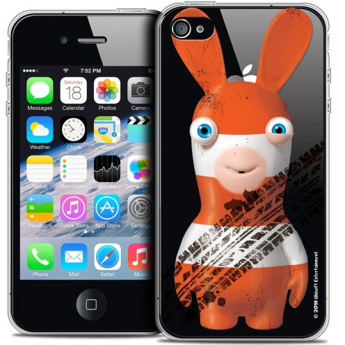 Coque iPhone 4/4s Extra Fine Lapins Crétins™ - On the Road