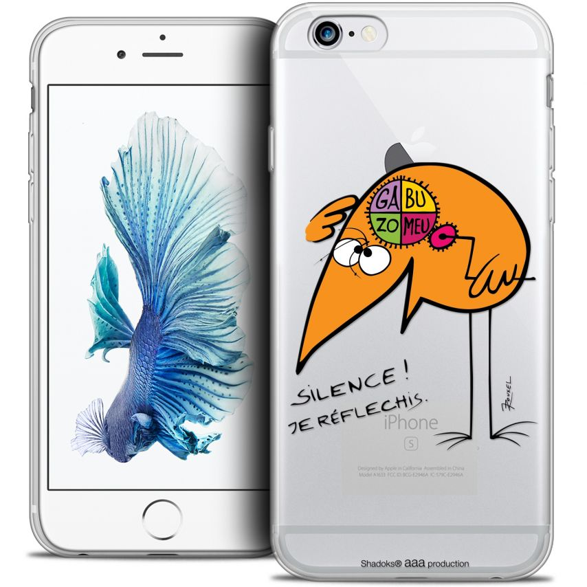 Coque iPhone 6/6s Plus 5.5 Extra Fine Les Shadoks® - Silence !