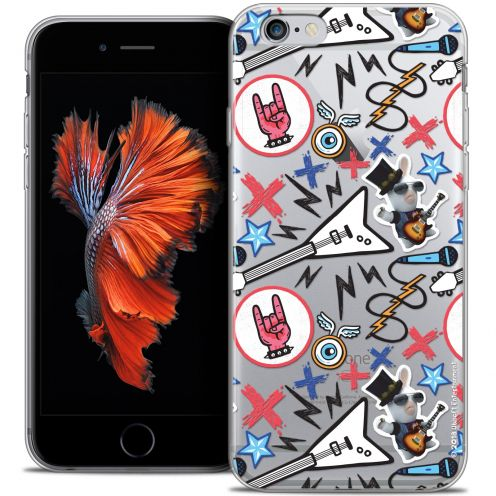 Coque iPhone 6/6s Plus 5.5 Extra Fine Lapins Crétins™ - Rock Pattern