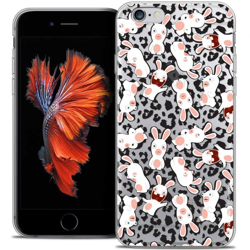 Coque iPhone 6/6s Plus 5.5 Extra Fine Lapins Crétins™ - Leopard Pattern