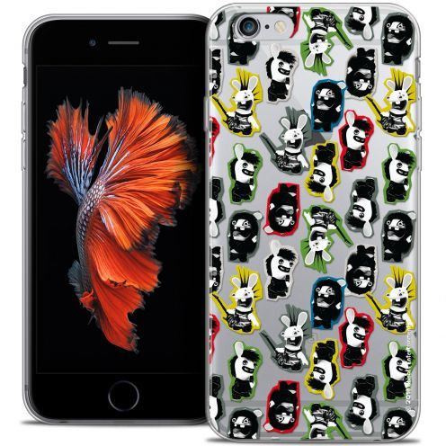 Coque iPhone 6/6s Plus 5.5 Extra Fine Lapins Crétins™ - Punk Pattern
