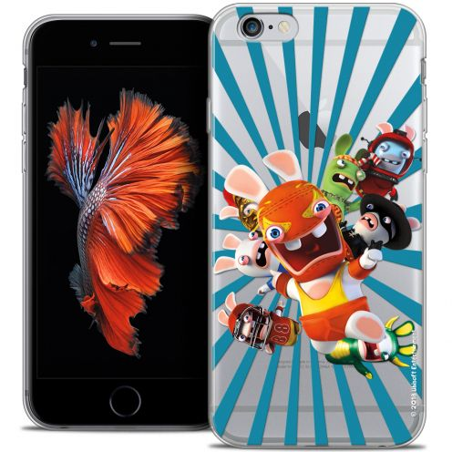 Coque iPhone 6/6s Plus 5.5 Extra Fine Lapins Crétins™ - Super Heros