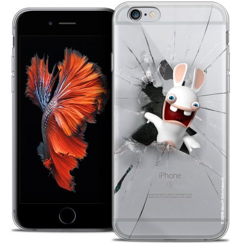 Coque iPhone 6/6s Plus 5.5 Extra Fine Lapins Crétins™ - Breaking Glass