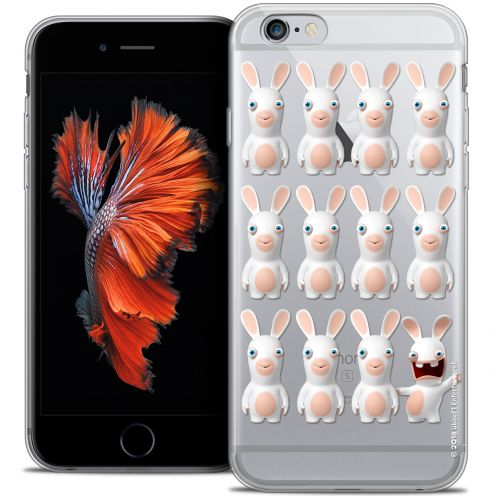Coque iPhone 6/6s Plus 5.5 Extra Fine Lapins Crétins™ - Im ready Pattern