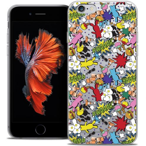 Coque iPhone 6/6s Plus 5.5 Extra Fine Lapins Crétins™ - Bwaaah Pattern