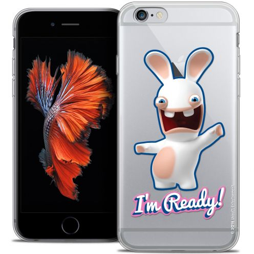 Coque iPhone 6/6s Plus 5.5 Extra Fine Lapins Crétins™ - I'm Ready !
