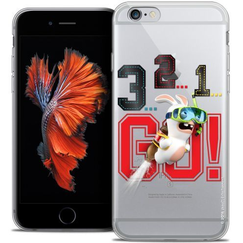 Coque iPhone 6/6s Plus 5.5 Extra Fine Lapins Crétins™ - 321 Go !