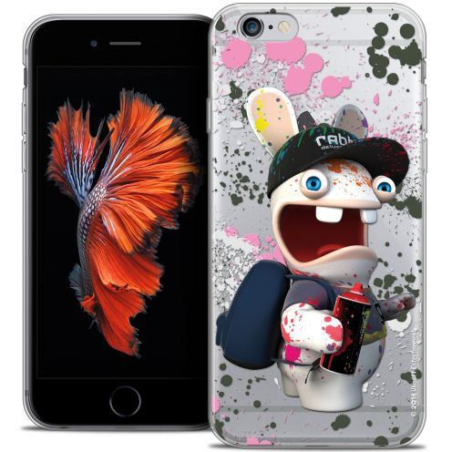 Coque iPhone 6/6s Plus 5.5 Extra Fine Lapins Crétins™ - Painter