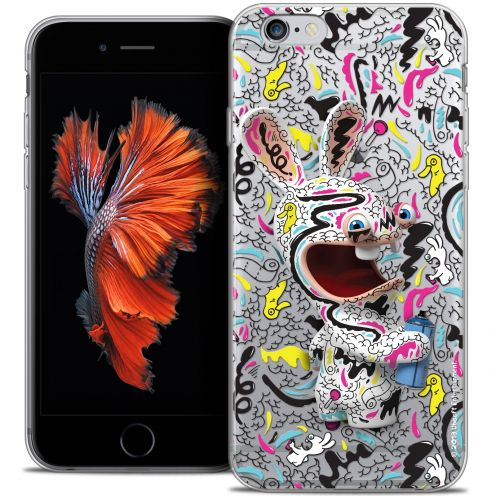 Coque iPhone 6/6s Plus 5.5 Extra Fine Lapins Crétins™ - Tag
