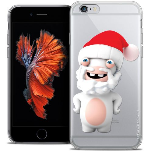 Coque iPhone 6/6s Plus 5.5 Extra Fine Lapins Crétins™ - Lapin Noël
