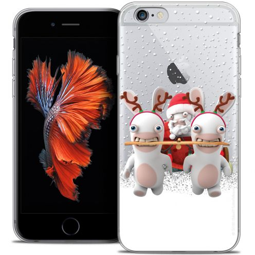 Coque iPhone 6/6s Plus 5.5 Extra Fine Lapins Crétins™ - Lapin Traineau