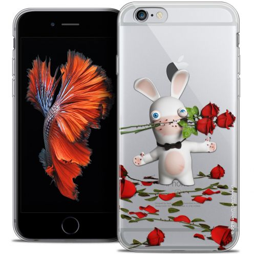 Coque iPhone 6/6s Plus 5.5 Extra Fine Lapins Crétins™ - Gentleman Crétin
