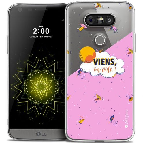 Coque LG G5 Extra Fine Petits Grains® - VIENS, On Vole !