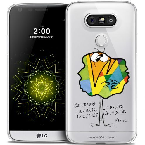 Coque LG G5 Extra Fine Les Shadoks® - Chaud ou Froid
