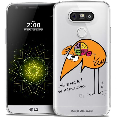 Coque LG G5 Extra Fine Les Shadoks® - Silence !