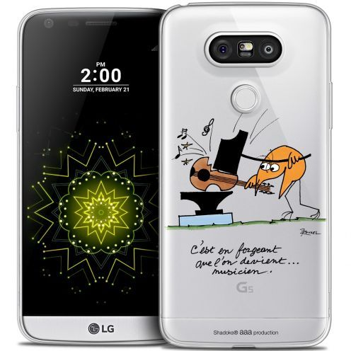 Coque LG G5 Extra Fine Les Shadoks® - Musicien