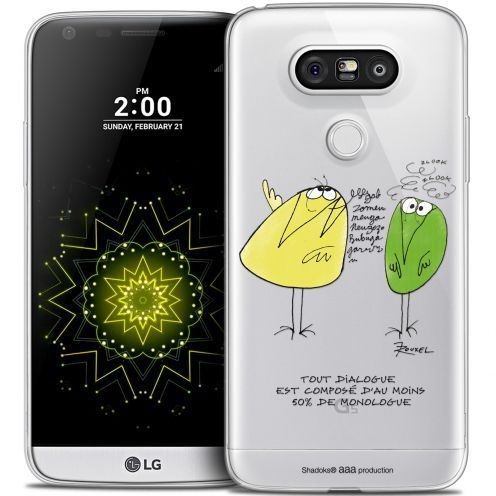 Coque LG G5 Extra Fine Les Shadoks® - Le Dialogue