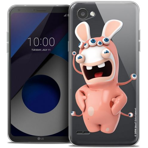 """Coque Gel LG Q6 (5.5"""") Extra Fine Lapins Crétins™ - Extraterrestre"""