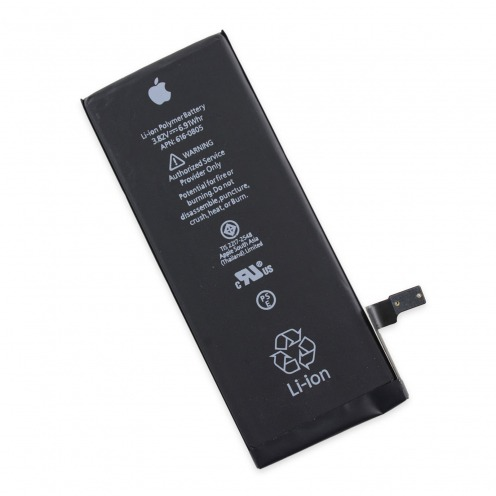 Vue détaillée de Batterie d'Origine Apple pour Apple iPhone 6 - APN: 616-0808 1810 mAh