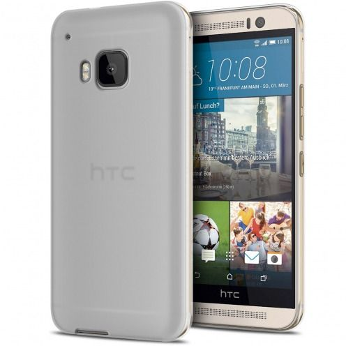 Zoom sur Coque HTC One M9 Frozen Ice Extra Fine Gel