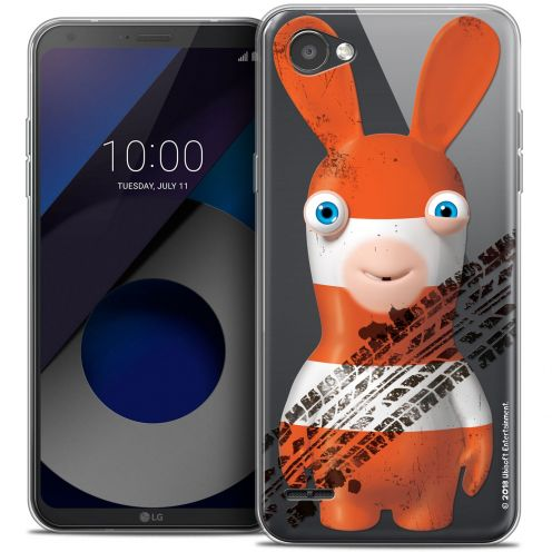 """Coque Gel LG Q6 (5.5"""") Extra Fine Lapins Crétins™ - On the Road"""