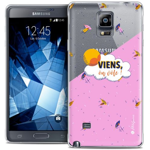 Coque Galaxy Note 4 Extra Fine Petits Grains® - VIENS, On Vole !