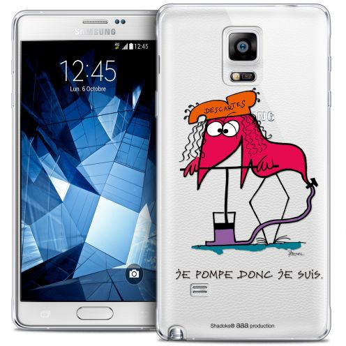 Coque Galaxy Note 4 Extra Fine Les Shadoks® - Donc Je Suis
