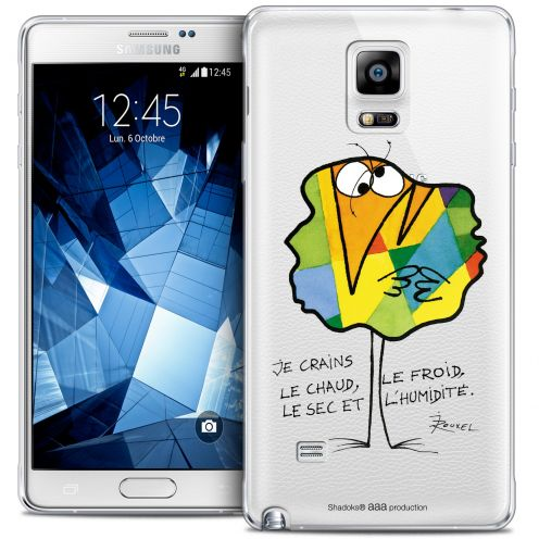 Coque Galaxy Note 4 Extra Fine Les Shadoks® - Chaud ou Froid