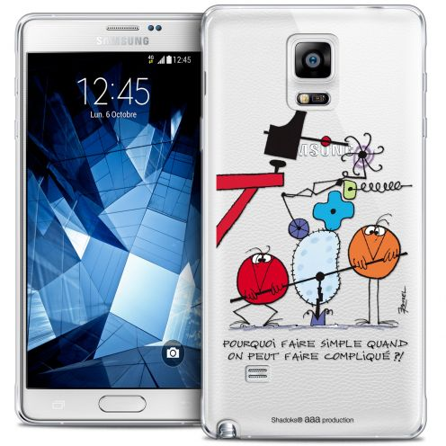 Coque Galaxy Note 4 Extra Fine Les Shadoks® - Pourquoi faire Simple