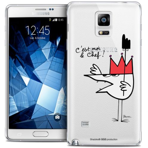 Coque Galaxy Note 4 Extra Fine Les Shadoks® - Le Chef