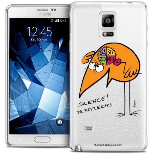 Coque Galaxy Note 4 Extra Fine Les Shadoks® - Silence !