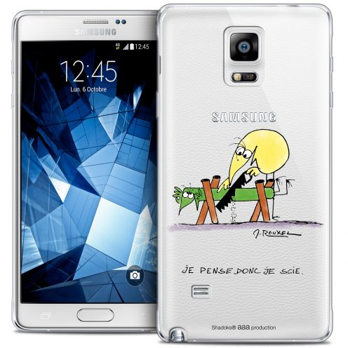 Coque Galaxy Note 4 Extra Fine Les Shadoks® - Je pense Donc
