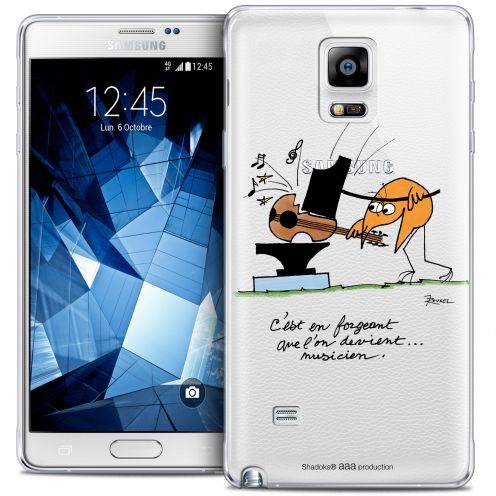 Coque Galaxy Note 4 Extra Fine Les Shadoks® - Musicien
