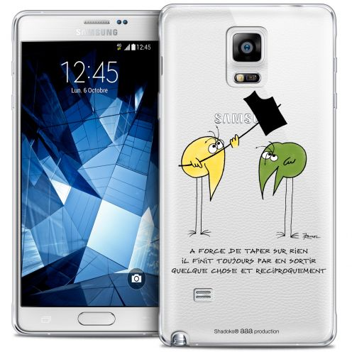 Coque Galaxy Note 4 Extra Fine Les Shadoks® - A Force