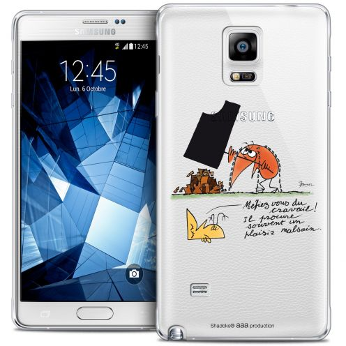 Coque Galaxy Note 4 Extra Fine Les Shadoks® - Le Travail