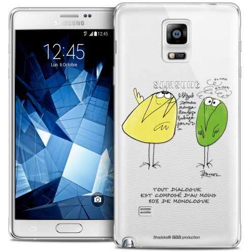 Coque Galaxy Note 4 Extra Fine Les Shadoks® - Le Dialogue