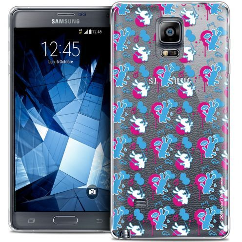 Coque Galaxy Note 4 Extra Fine Lapins Crétins™ - Rugby Pattern