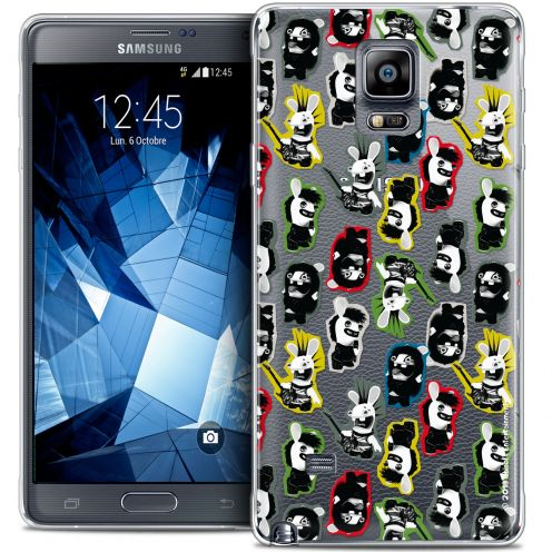 Coque Galaxy Note 4 Extra Fine Lapins Crétins™ - Punk Pattern