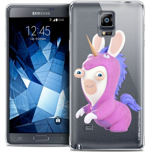 Coque Galaxy Note 4 Extra Fine Lapins Crétins™ - Licorne
