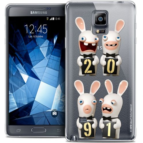 Coque Galaxy Note 4 Extra Fine Lapins Crétins™ - New Year